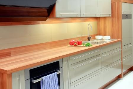 New kitchen  Standard-Bild