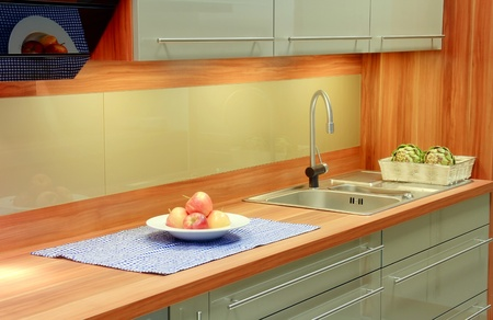 New kitchen interior Stock Photo - 13767804