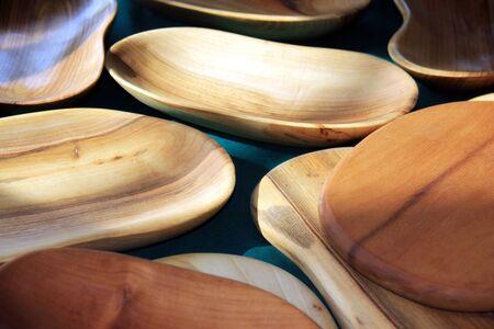 intestinos: Placas de madera y los intestinos