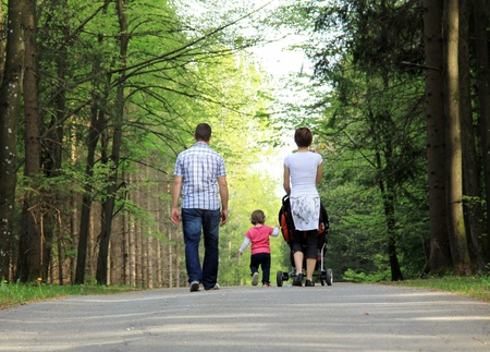 Fammily in the park