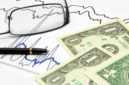 Börsen-Analyse Lizenzfreie Bilder