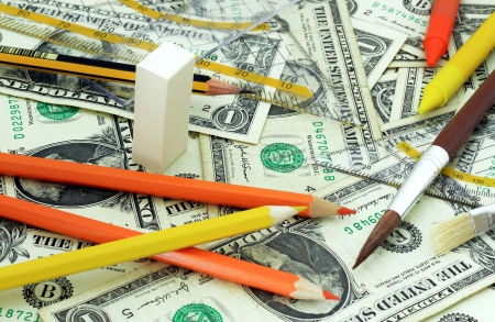High costs for school supplies  photo