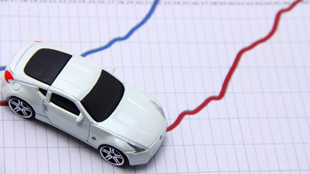 Car industry trends  Stock Photo