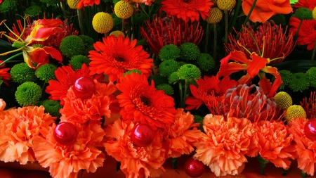 Beautiful flower bouquet Stock Photo - 19431207