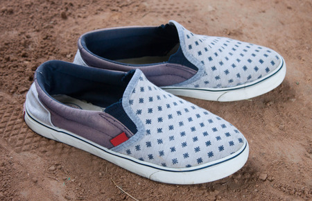 Comfortable shoes are designed for men in casual elegance
