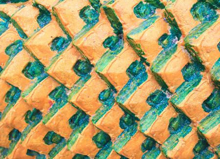 escamas de peces: Escamas de pez piedra adornan el fondo.