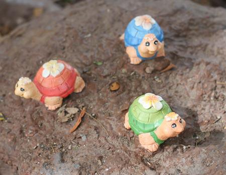 mini farm: 3 a clay turtle