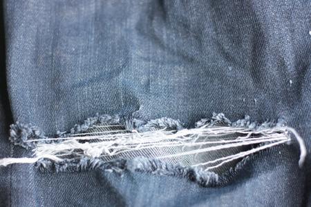 deficiencies: Old jeans deficiencies Stock Photo