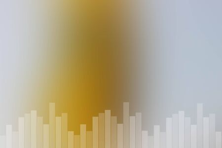 Abstract natural sound bar background