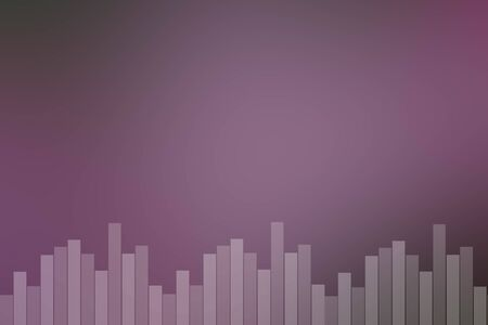 riff: Abstract natural pink sound bar background