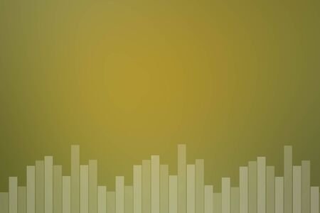 Yellow abstract smooth blur sound bar background