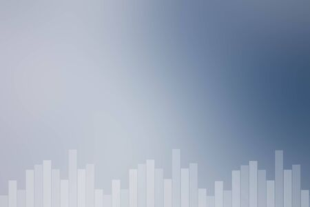 Blue and white sound bar background Stock Photo