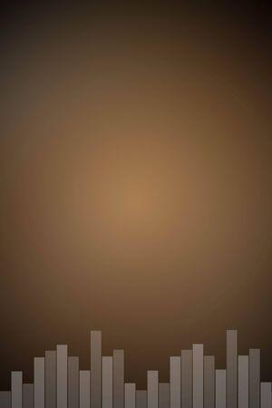 riff: light matt black sound bar background.