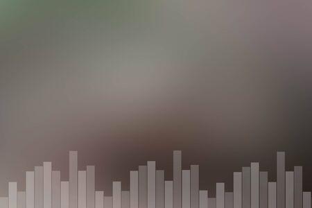 vibrations: Brown sound bar background