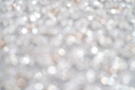 handmade cloth made from silver and rose gold beads. when it out of focus, you will see its light bokeh