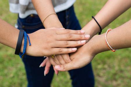 Teamwork oder Einheitskonzept Standard-Bild - 84926854