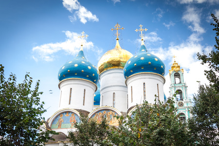 assumption: View of the Assumption Cathedral of the Trinity-Sergius Lavra