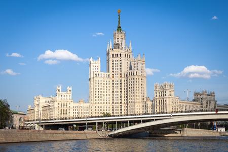 kotelnicheskaya embankment: Beautiful architecture of Kotelnicheskaya Embankment Building