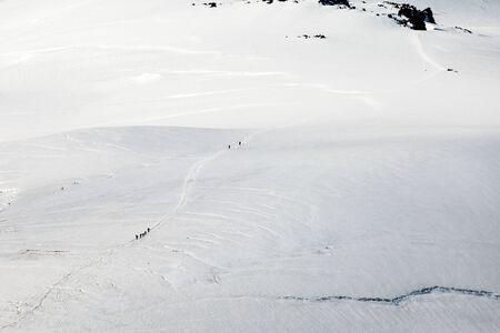 crack climbing: Acclimatization to the rocks Lenz when climbing Elbrus