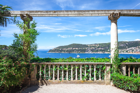 The view of the bay from the Villa Ephrussi de Rothschild photo