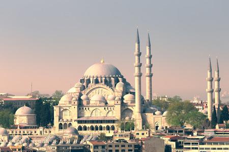 suleymaniye: View of the Suleymaniye Mosque from Galata Tower