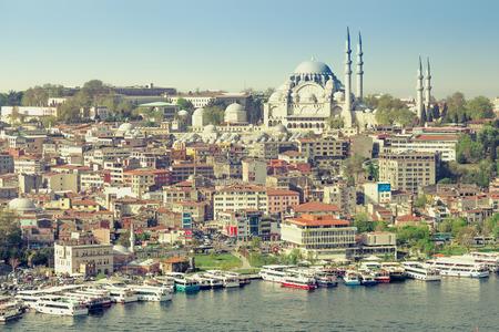 suleymaniye: View of the Suleymaniye Mosque