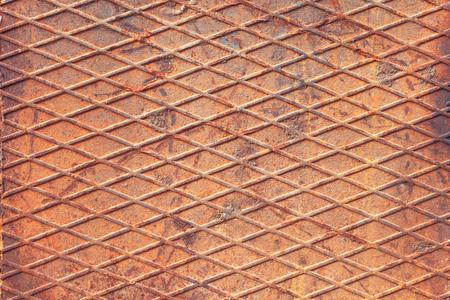 sheet steel: Background image in the form of sheet steel Lozenge corrugated