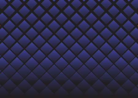 Rhombuses dark blue. A vector background.