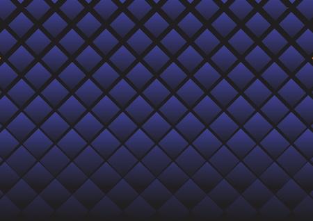 Rhombuses dark blue. A vector background.