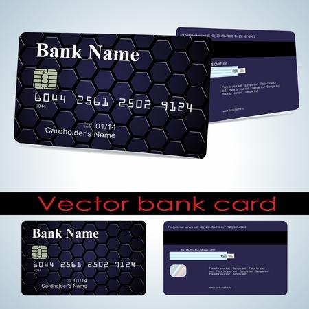 visa credit card: Bank card.