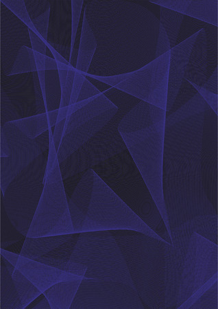 Abstract black and blue background. Design development. Vector illustration.
