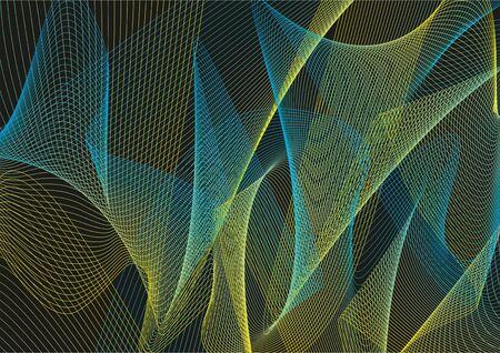 Abstract vector background. Patterns. Vector illustration. Illustration