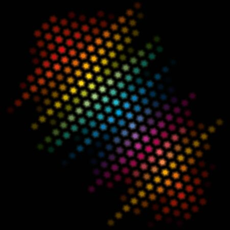 Abstract black background with a bright texture.