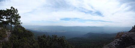 mountaintop: Mountaintop in Thailand Stock Photo