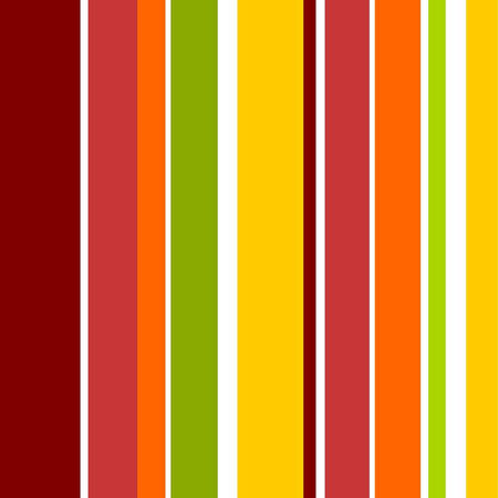 A simple seamless autumn stripe design! Illustration