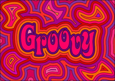 A psychedelic Groovy design! Stock Vector - 5603995