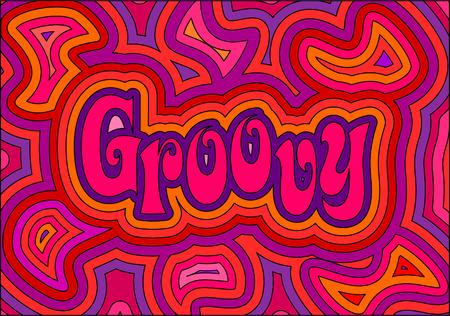 Un design Groovy psichedelico!