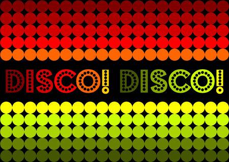 70s discoteca design ispirato. Boogie in gi�!