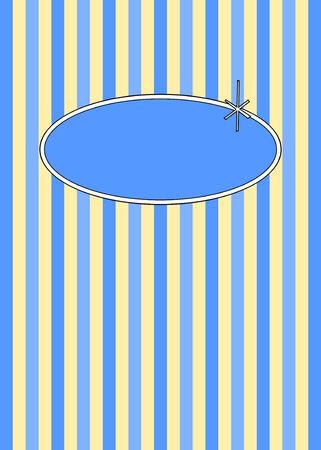 retr� anni cinquanta candy stripes design con copyspace.  Vettoriali