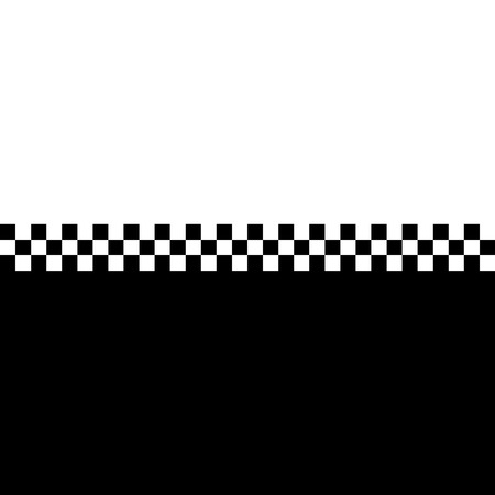 80s retro checkerboard design with plenty of copyspace.