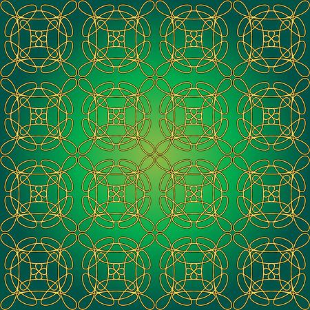 Mattonelle senza giunte con swirly whirly pattern. Per il file vettoriale - single pattern incluso come un livello nascosto che pu� essere utilizzato per modificare la dimensione del tipo di ripetizione in generale.