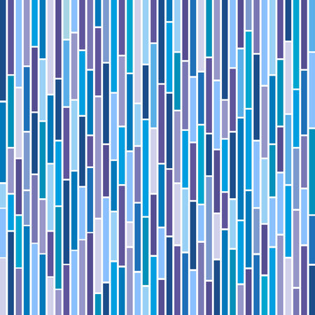 Abstract vertical stripes design in cool colours.