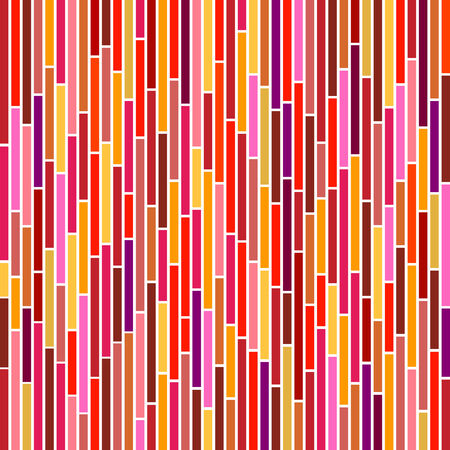 Abstract vertical stripes design in hot colours.