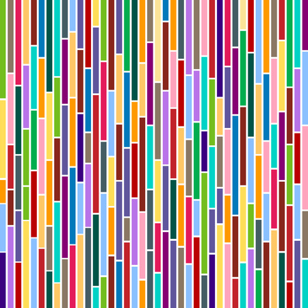 Abstract vertical stripes design in Multicolours. Illustration