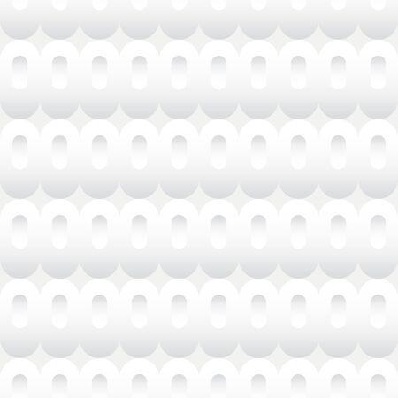 Sfondo senza soluzione di piastrelle di un modello di bianco ovali dell'inserzione.