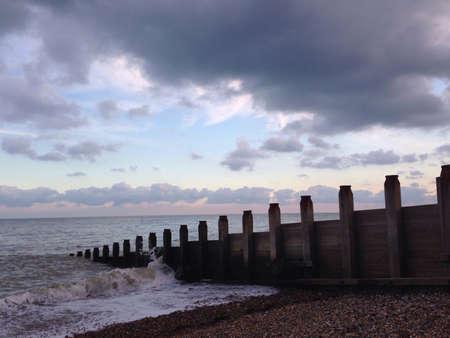 groyne: Eastbourne Pebble Beach Groyne