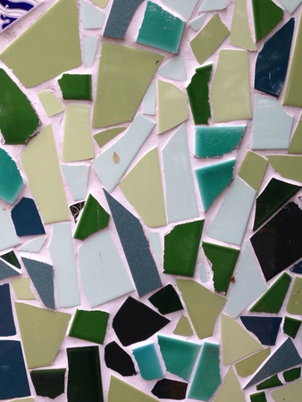 abstract: Abstract Mosaic Tiles Background