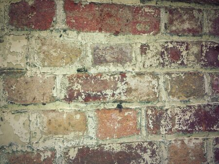 Grunge Texture Old Brick Wall