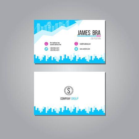 business card: Arrow Business Card