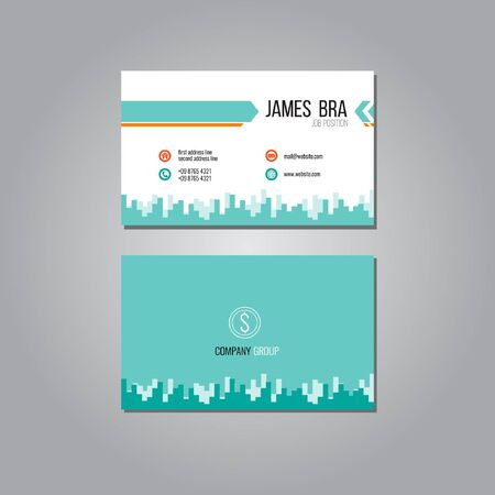 Business Card Line Template